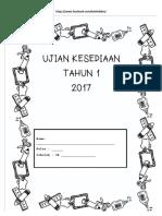 Ujian Kesediaan Tahun 1 2017-Fb-koleksi-bbm