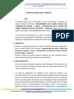 Mem Descriptiva Hidrologica YANAS DOS de MAYO