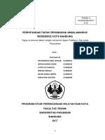 Perhitungan Tapak Perumahan Annalamarius Residence Kota Bandung