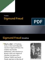 Sigmund Freud Timeline, Biography