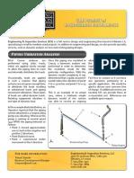 Piping Vibration Analysis