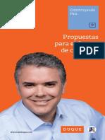 Duque - Propuestas de Gobierno