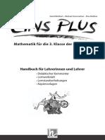 Eins Plus - Mathematik Für Die 3. Klasse Der Grundschule - Handbuch Für Lehrerinnen Und Lehrer (Huong Dan Giao Vien)