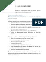 Menilai Komponen Risiko Audit ( Deni )