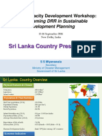 Sri Lanka Country Presentation