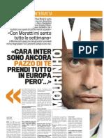 Intervista Mou gazza 02-09-2010