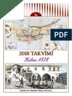 2018 Calendar - Cyprus