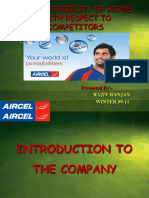 50077242 Ppt Final Aircel Retail Visibility Presentation
