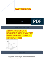Simple Gravity Dam Design