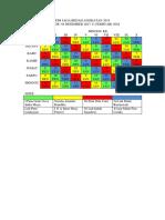 Jadwal Jaga Bedah Angkatan 2013