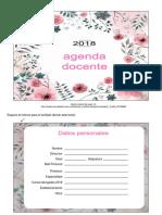 Agenda Docente 01 Editable