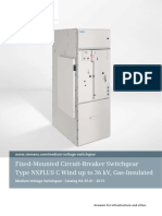 Catalog HA 35.61 Fixed-Mounted Circuit-Breaker Switchgear NXPLUS C Wind