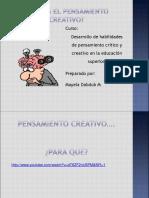 Pensamiento Creativo 2