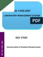 f ISO 17025