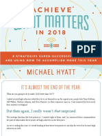 Michael Hyatt - Achieve What Matters in 2018