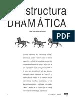 La estructura dramática