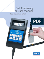 Belt Frequency Meter Manual