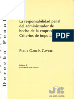 PG.cavero - [1999].Responsab. PenalDelAdministrador