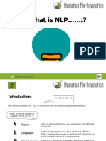 Intro to NLP Cbt