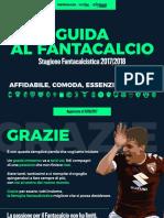 Fantamagazine Guida Asta Fantacalcio 2017 2018 1508-Min
