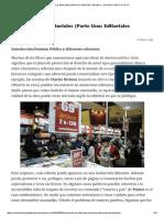 """Valorando Las Editoriales (Parte Uno_ Editoriales """"Baratas"""") – Narrativa Clásica XIX & XX"""