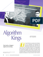 IEEE Solid-State Circuits Magazine Volume 4 Issue 2 2012 [Doi 10.1109_mssc.2012.2193079] Oppenheim, A.v. -- Algorithm Kings- The Birth of Digital Signal Processing