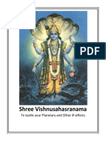 English Vishnu Sahasranama