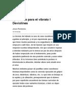 Ejercicios para el vibrato | Deviolines.pdf