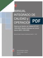 Manual Integrado de Calidad y Operaciones 4.1
