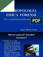 ANTROPOLOGÍA FISICA Y FORENSE