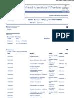 Tribunal administratif - Dossier n°1001867 - 5 juillet 2010