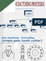 Gearmanufacturing Methods