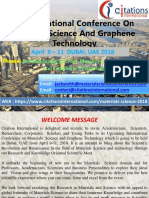 Materials Science 2018