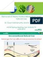 Lng Removal of Heavy Hydrocarbons From Lean Natural Gas