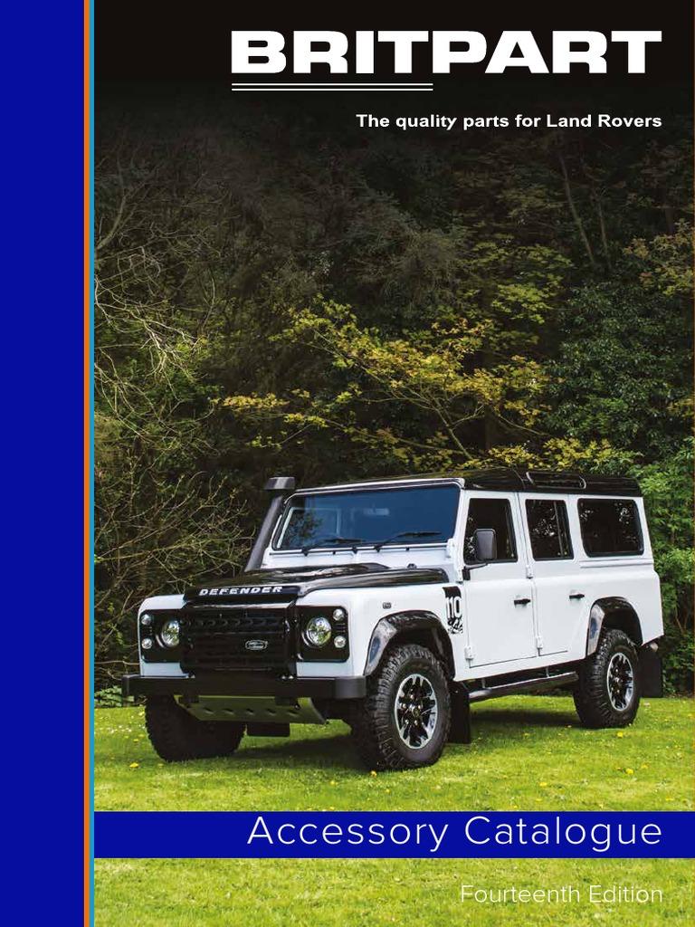 ACC Parts Fits Land Rover Defender Pair Front Mud Flap Mudflap Brackets /& Stiffeners DA1188