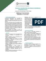 Especializacion Docencia Universitaria Ciencias Economicas Posgrado Uba