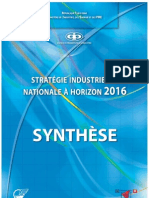 Synthese Stratégie 2016