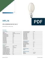 Spesifikasi Lampu Hpln 250 w