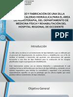 DISEÑO Y FABRICACIÓN DE UNA SILLA.pptx