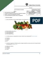 3° Evaluación vida saludable