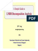 A Simple Guide to LMDI