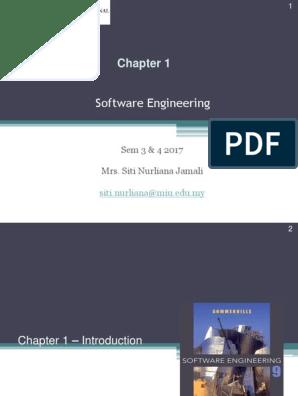 Software Engineering Sem 3 4 2017 Mrs Siti Nurliana Jamali Software Development Software Development Process