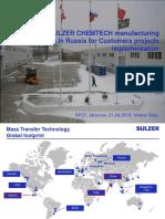 Rpef2015 Sulzer Chemtech Stas Volkov Eng