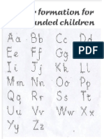 Formacion Direccion Letras Alfabeto Zurdos 3