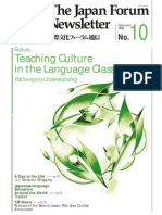 Teaching Culture With Langauge in Classroom