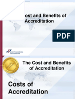 Costs and Benefits of JCI Accreditation