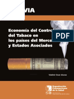 Bolivia Annex3 Economics of Tobacco Control Sp