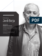 Entrevista a Jordi Borja