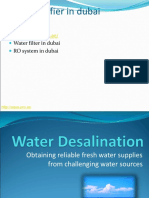 Water Purifier in Dubai