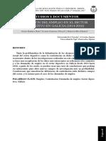 Situación empleo sector deportivo Galicia
